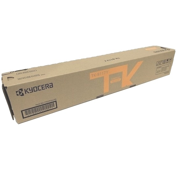TK-8117Y Toner Cartridge - Kyocera Mita Genuine OEM (Yellow)