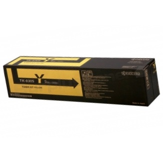 TK-8307Y Toner Cartridge - Kyocera Mita Genuine OEM (Yellow)