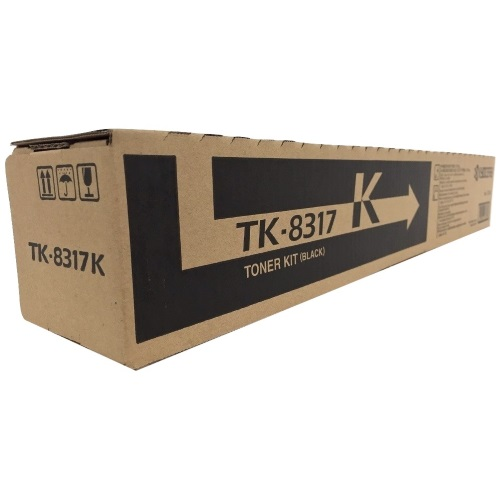 Genuine Kyocera Mita TK-8317K Black Toner Cartridge