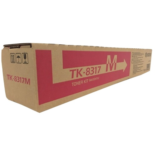 Genuine Kyocera Mita TK-8317M Magenta Toner Cartridge