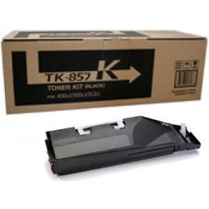 TK-857K Toner Cartridge - Kyocera Mita Genuine OEM (Black)