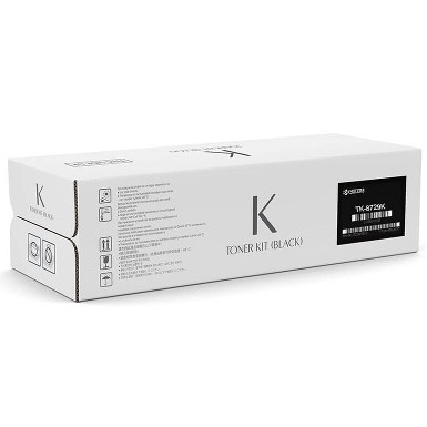 TK-8727K Toner Cartridge - Kyocera Mita Genuine OEM (Black)