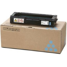 Lanier 407896 Toner Cartridge - Lanier Genuine OEM (Cyan)