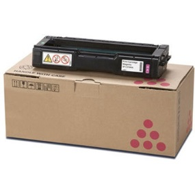 Lanier 407897 Toner Cartridge - Lanier Genuine OEM (Magenta)