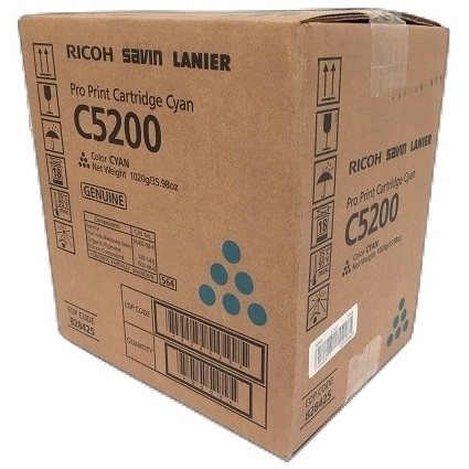 Lanier 828425 Toner Cartridge - Lanier Genuine OEM (Cyan)