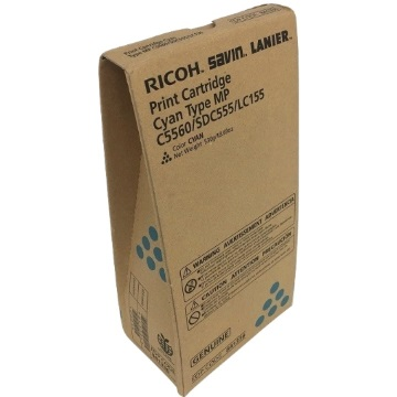 Lanier 841336 Toner Cartridge - Lanier Genuine OEM (Cyan)