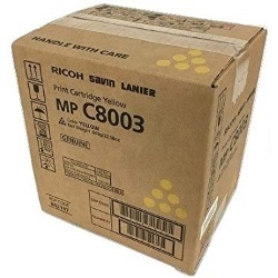 Lanier 842197 Toner Cartridge - Lanier Genuine OEM (Yellow)