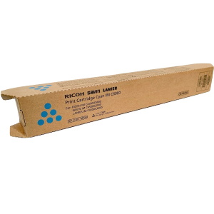Lanier 842282 Toner Cartridge - Lanier Genuine OEM (Cyan)