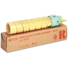 Genuine Lanier 888309 Yellow Toner Cartridge