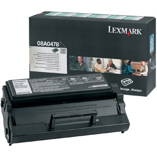 08A0478 Toner Cartridge - Lexmark Genuine OEM (Black)