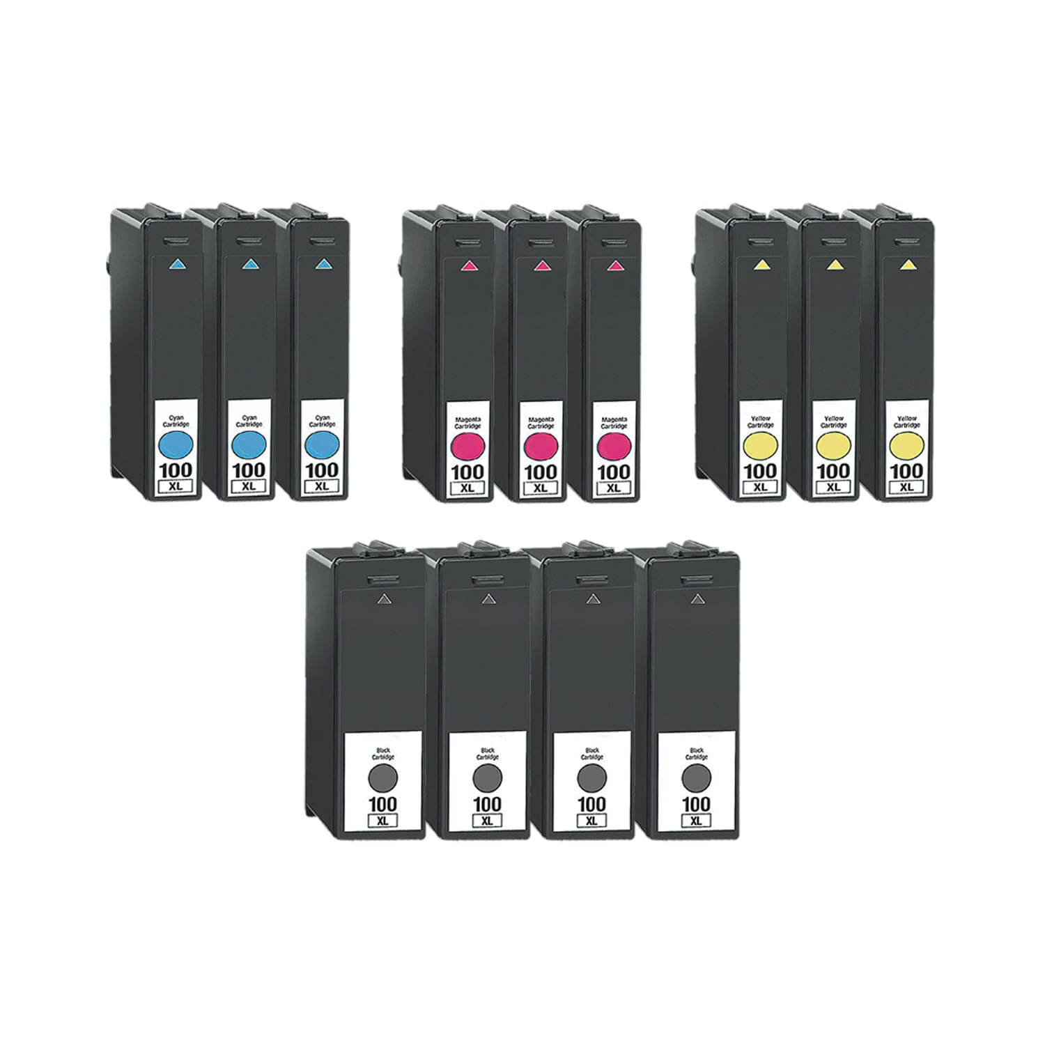 Compatible Lexmark 100XL Inkjet High Capacity Pack - 13 Cartridges
