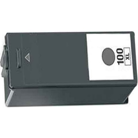 Lexmark #100XL Black Ink Cartridge - Lexmark Compatible (Black)