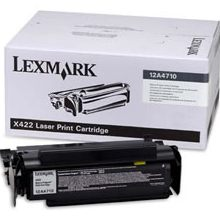12A4710 Toner Cartridge - Lexmark Genuine OEM (Black)