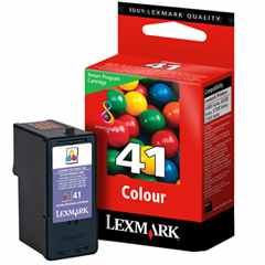 Lexmark #41 Ink Cartridge - Lexmark Genuine OEM (Color)
