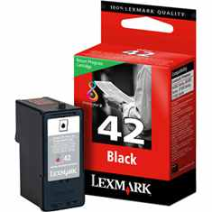 Lexmark #42 Ink Cartridge - Lexmark Genuine OEM (Black)