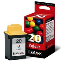 Lexmark #20 Ink Cartridge - Lexmark Genuine OEM (Color)