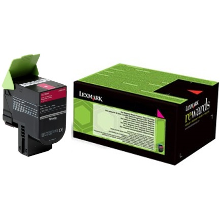 24B6009 Toner Cartridge - Lexmark Genuine OEM (Magenta)