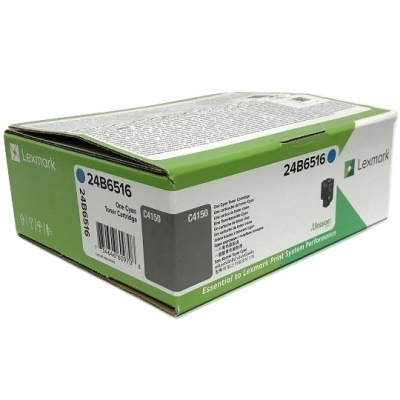 24B6516 Toner Cartridge - Lexmark Genuine OEM (Cyan)
