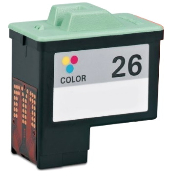 Lexmark #26 Ink Cartridge - Lexmark Remanufactured (Color)