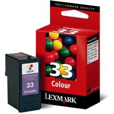 Lexmark #33 Ink Cartridge - Lexmark Genuine OEM (Color)