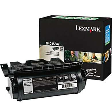 64015SA Toner Cartridge - Lexmark Genuine OEM (Black)