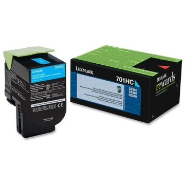 70C1HC0 Toner Cartridge - Lexmark Genuine OEM (Cyan)