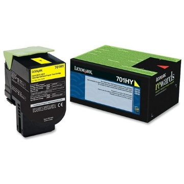 70C1HY0 Toner Cartridge - Lexmark Genuine OEM (Yellow)