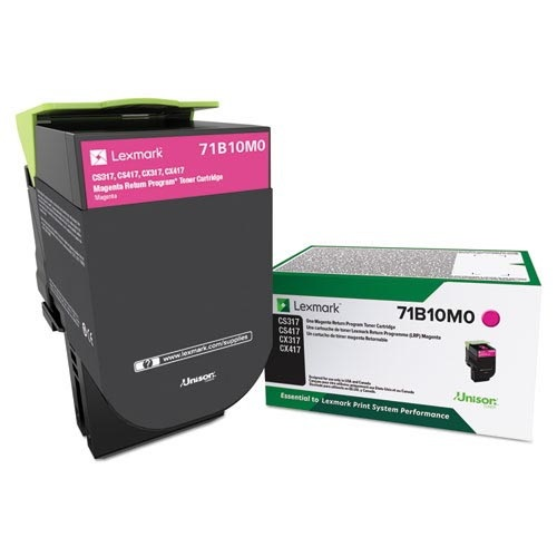 71B10M0 Toner Cartridge - Lexmark Genuine OEM (Magenta)