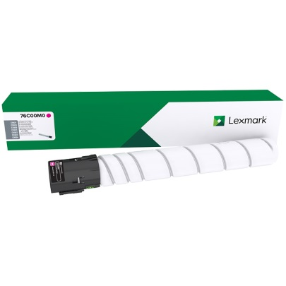76C00M0 Toner Cartridge - Lexmark Genuine OEM (Magenta)