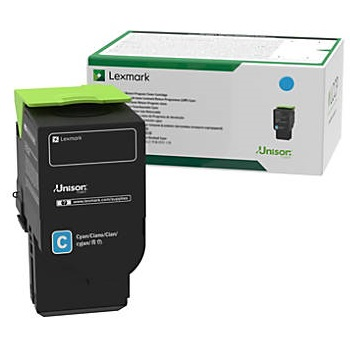 78C10C0 Toner Cartridge - Lexmark Genuine OEM (Cyan)