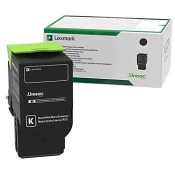 78C10K0 Toner Cartridge - Lexmark Genuine OEM (Black)