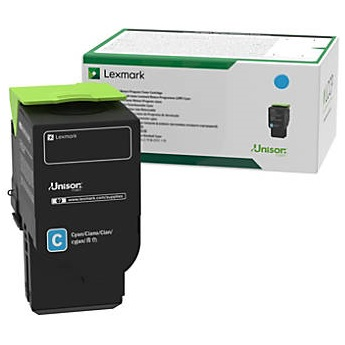 C231HC0 Toner Cartridge - Lexmark Genuine OEM (Cyan)