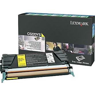 C5220YS Toner Cartridge - Lexmark Genuine OEM (Yellow)