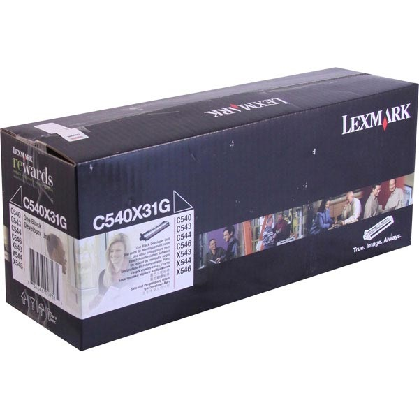 C540X31G Photodeveloper - Lexmark Genuine OEM (Black)