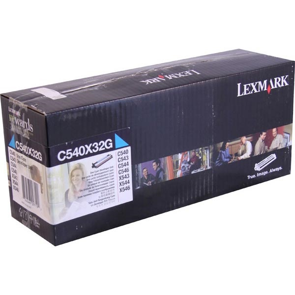 C540X32G Photodeveloper - Lexmark Genuine OEM (Cyan)