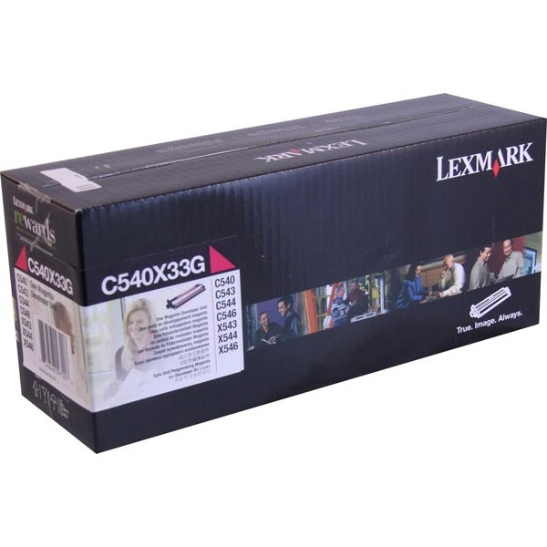 C540X33G Photodeveloper - Lexmark Genuine OEM (Magenta)