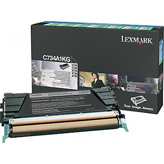 C734A1KG Toner Cartridge - Lexmark Genuine OEM (Black)