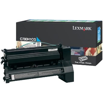 C780H1CG Toner Cartridge - Lexmark Genuine OEM (Cyan)