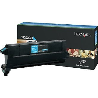 Genuine Lexmark C9202CH Cyan Toner Cartridge