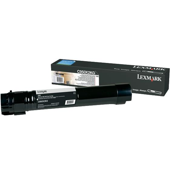 Genuine Lexmark C950X2KG Black Toner Cartridge