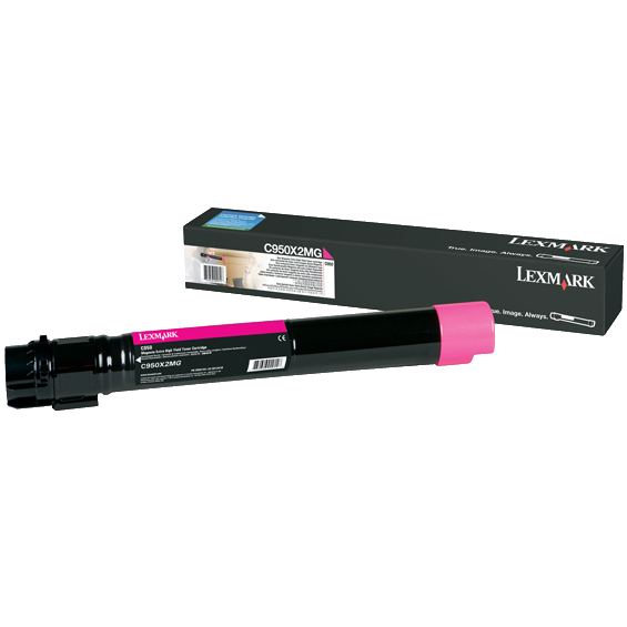 Genuine Lexmark C950X2MG Magenta Toner Cartridge