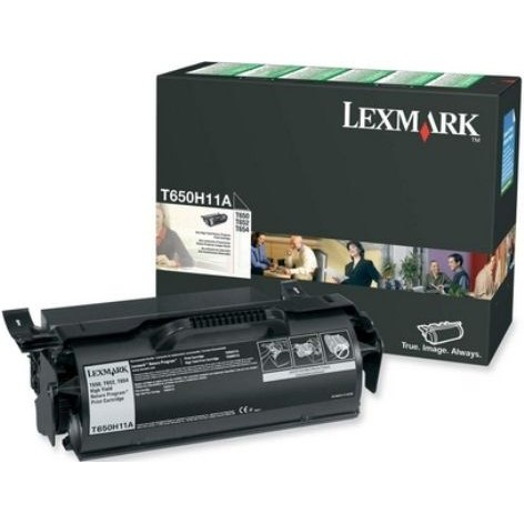 T650H11A Toner Cartridge - Lexmark Genuine OEM (Black)