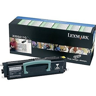 X203A11G Toner Cartridge - Lexmark Genuine OEM (Black)