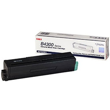 Genuine Okidata 42102901 Black Toner Cartridge