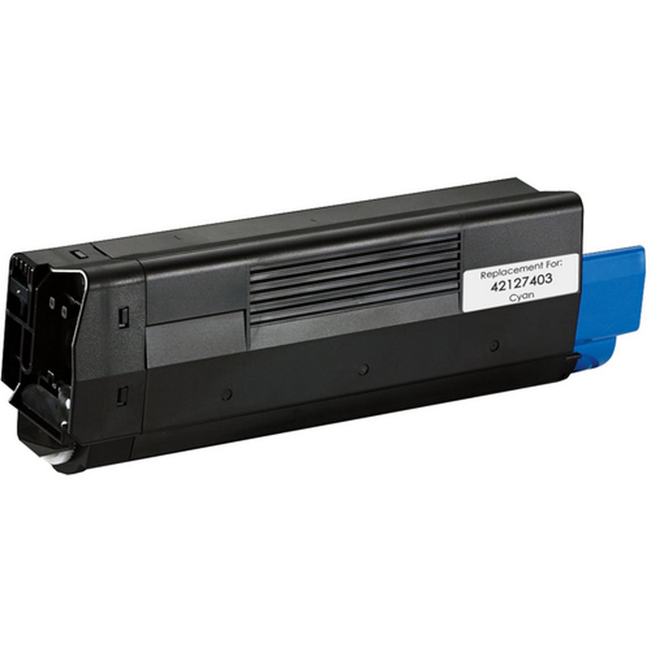 42127403 Toner Cartridge - Okidata Remanufactured (Cyan)