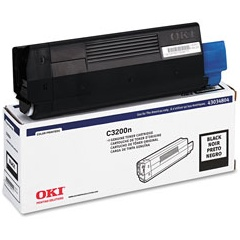 Genuine Okidata 43034804 Black Toner Cartridge
