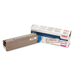 43324467 Toner Cartridge - Okidata Genuine OEM (Magenta)