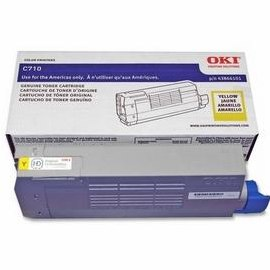43866101 Toner Cartridge - Okidata Genuine OEM (Yellow)