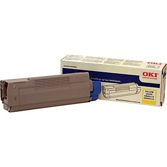 Genuine Okidata 44469737 Yellow Toner Cartridge