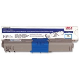 46490503 Toner Cartridge - Okidata Genuine OEM (Cyan)